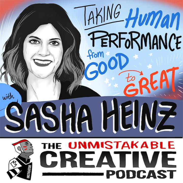 Listener Favorites: Sasha Heinz   Taking Human Performance From Good to Great