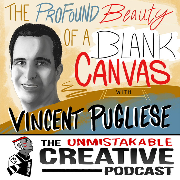 Vincent Pugliese: The Profound Beauty of a Blank Canvas