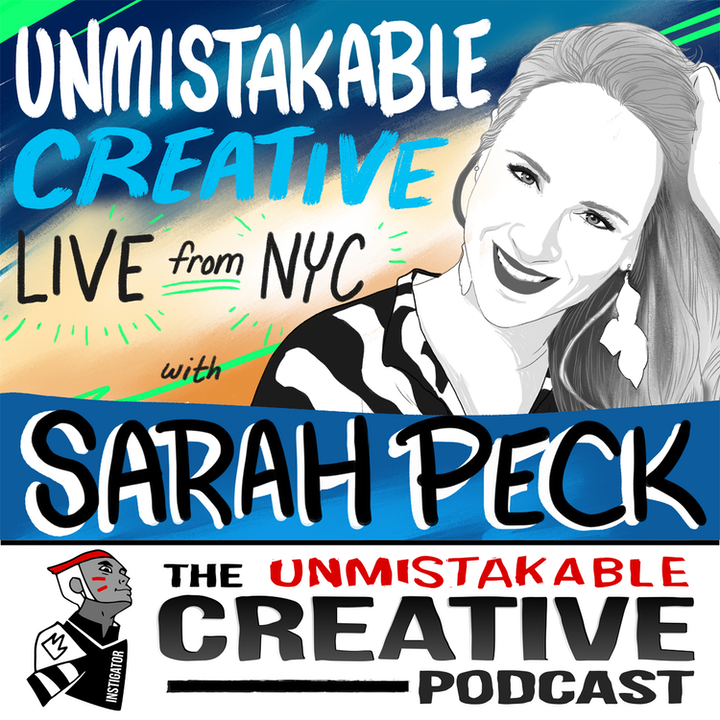 Unmistakable Creative Live from NYC with Sarah Peck