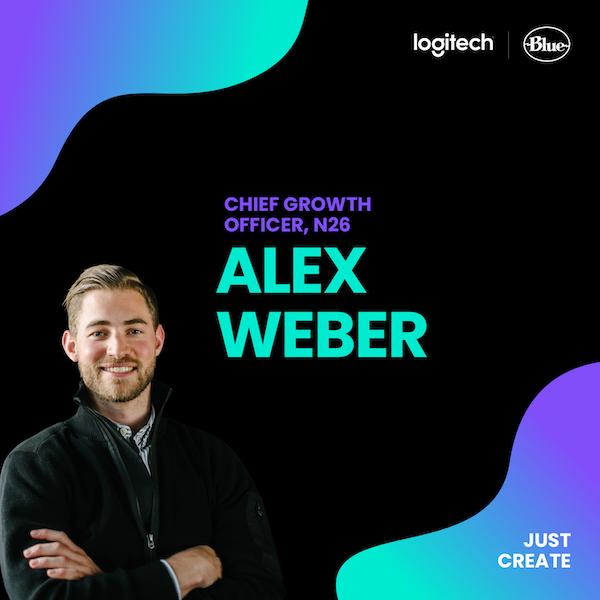 Alexander Weber, N26 | Just Create, powered by Logitech & Blue Microphones Image