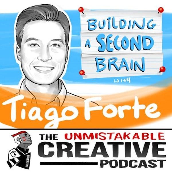 Listener Favorites: Tiago Forte: Building a Second Brain Image