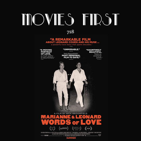 728: Marianne and Leonard: Words of Love (Documentary, Biography, Music) (the @MoviesFirst review)