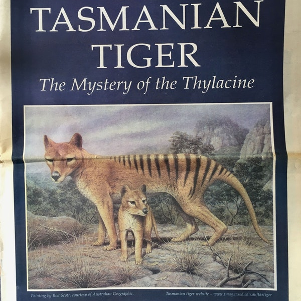 On the Trail of the Thylacine Image