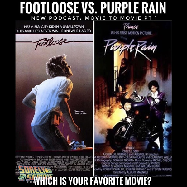 "Footloose (1984) vs. Purple Rain (1984)"" Movie to Movie Pt 1 Image"