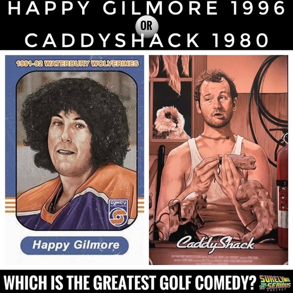 Happy Gilmore (1996) vs. Caddyshack (1980) Image