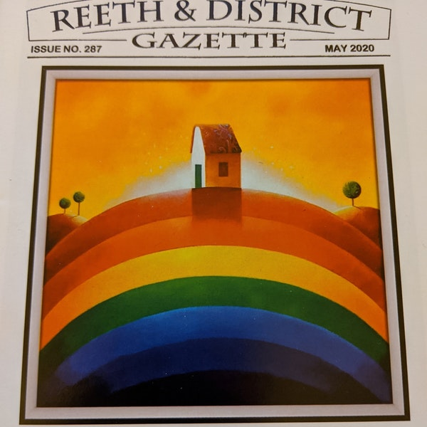 #2/22 Editorial Challenges behind the Reeth Gazette Image