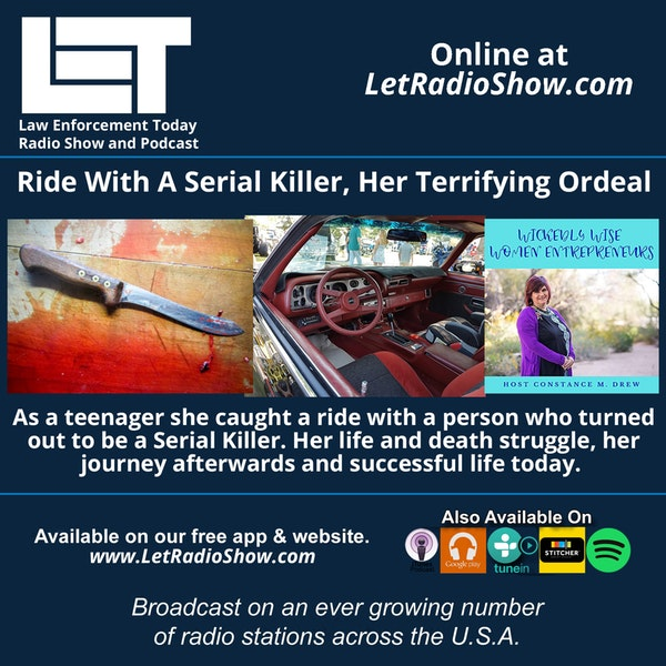 S5E74: Ride With A Serial Killer, Her Terrifying Ordeal.