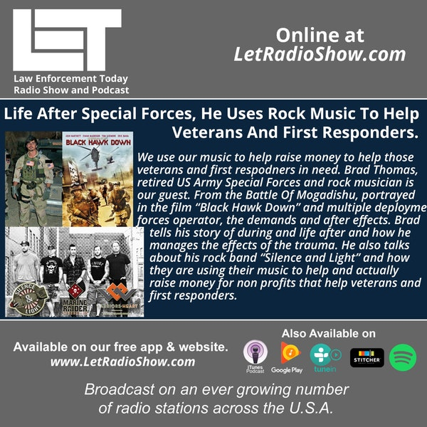 S5E28: Life After Special Forces, He Uses Rock Music To Help Veterans And First Responders. Image