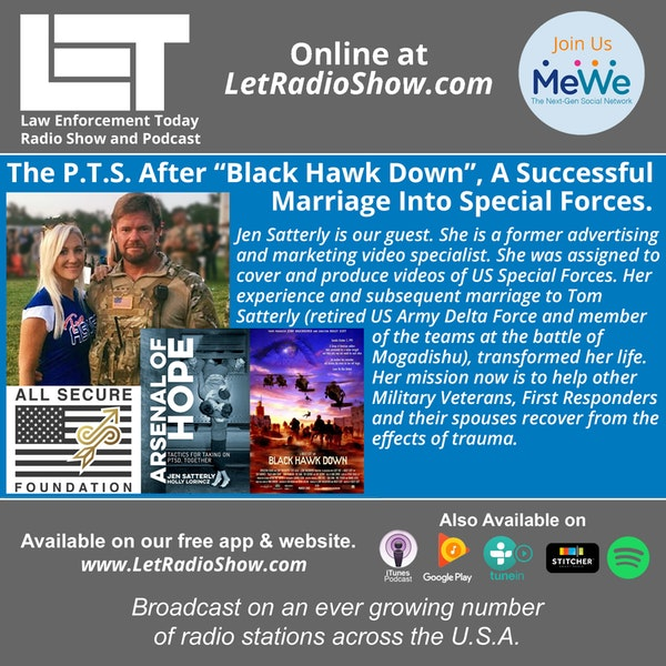 "S5E14: The P.T.S. After ""Black Hawk Down"", A Successful  Marriage Into Special Forces."