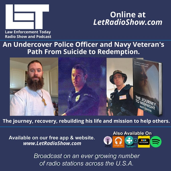 S5E73: An Undercover Police Officer and Navy Veteran's Path From Suicide to Redemption. His journey, recovery, rebuilding his life and mission to help others.