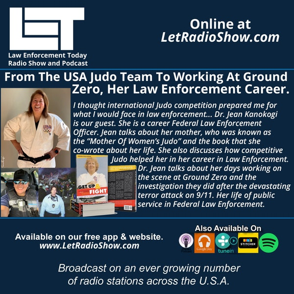 S5E26: From The USA Judo Team To Working At Ground Zero, Her Law Enforcement Career. Image