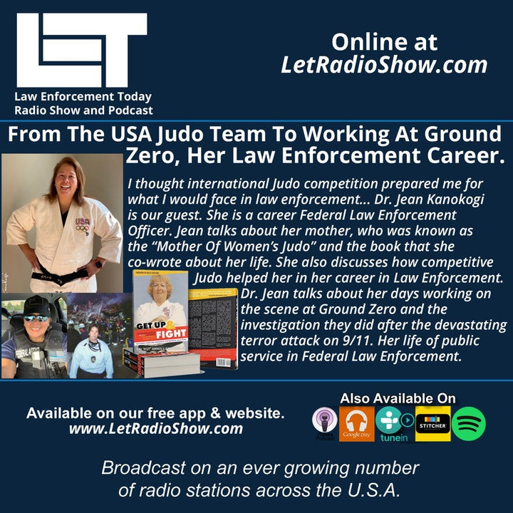 Episode image for S5E26: From The USA Judo Team To Working At Ground Zero, Her Law Enforcement Career.