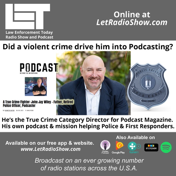 S5E58: Did a violent crime drive him into Podcasting? He's the True Crime Category Director for Podcast Magazine.