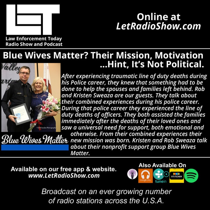 Episode image for S5E23: Blue Wives Matter? Their Mission, Motivation... Hint, It's Not Political.