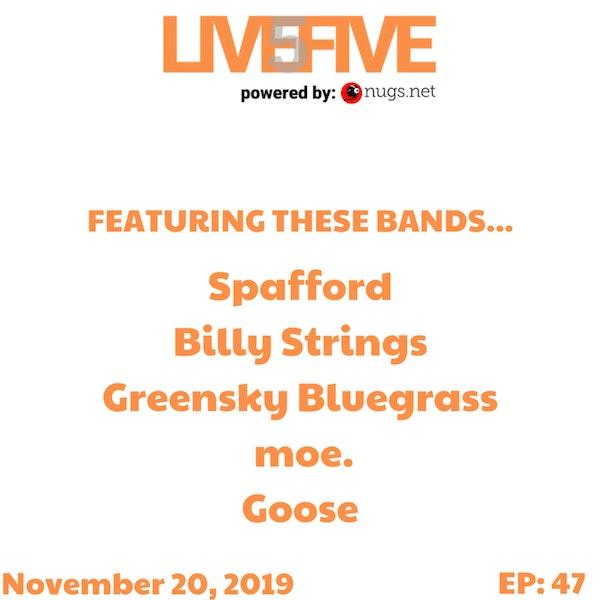 Live 5 - November 20, 2019.