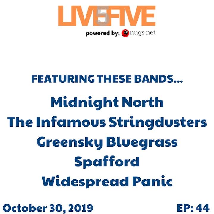 Live 5 - October 30, 2019.