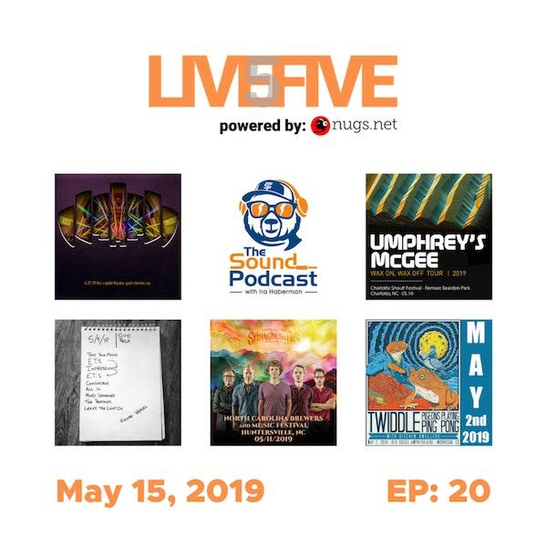 Live 5 - May 15, 2019.
