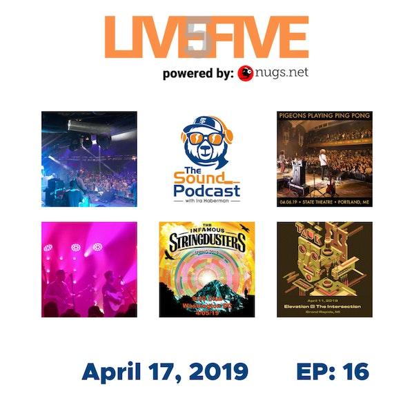 Live 5 - April 17, 2019.