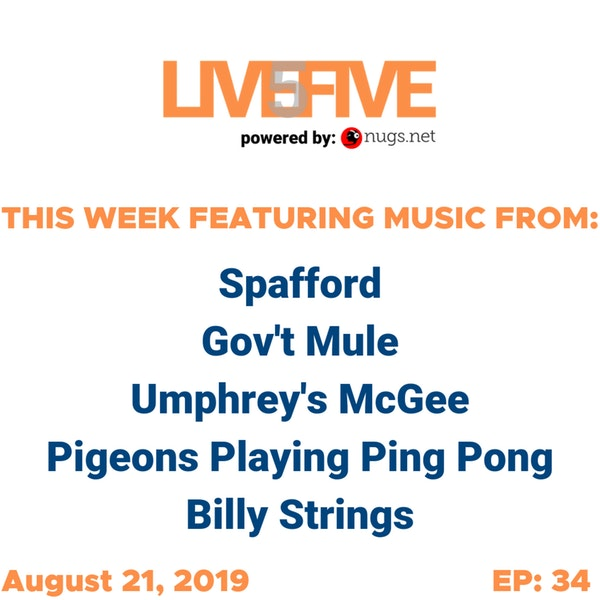 Live 5 - August 21, 2019.