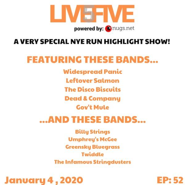 Live 5 - January 4, 2020.