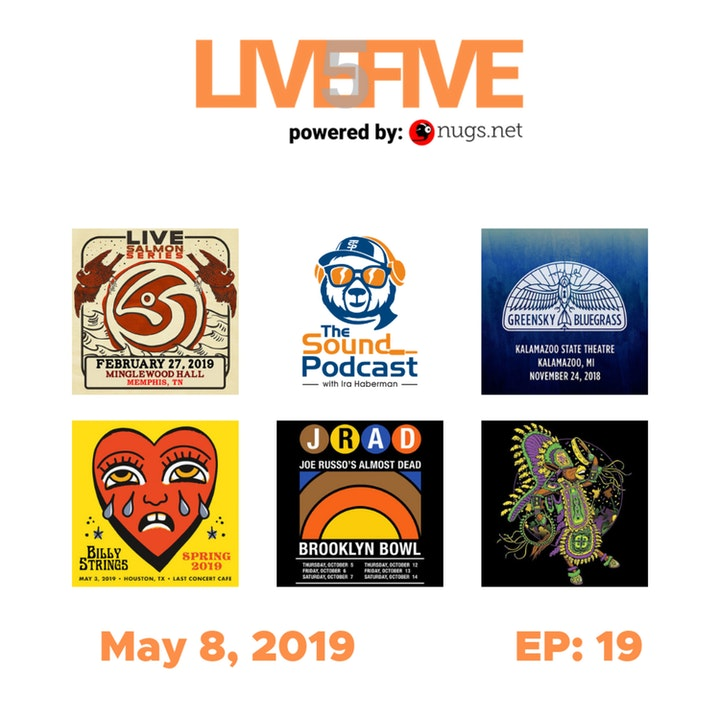 Live 5 - May 8, 2019.