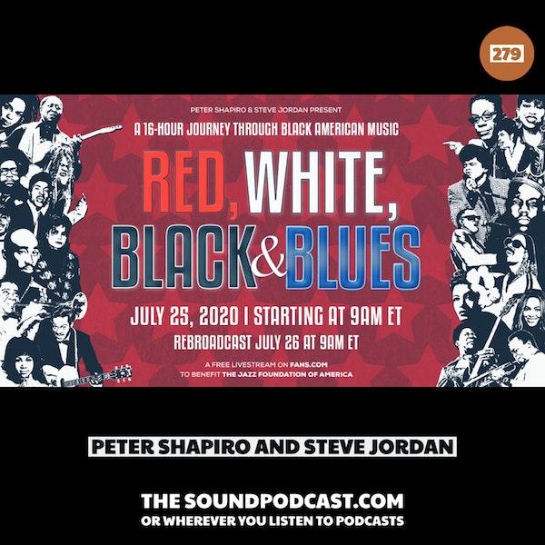 Peter Shapiro & Steve Jordan - Red, White, Black & Blues