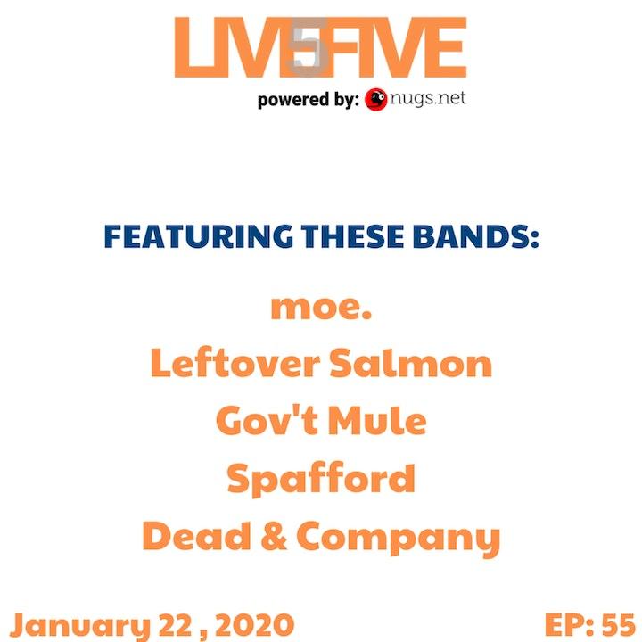 Live 5 - January 22, 2020.