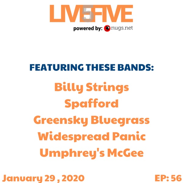Live 5 - January 29, 2020.