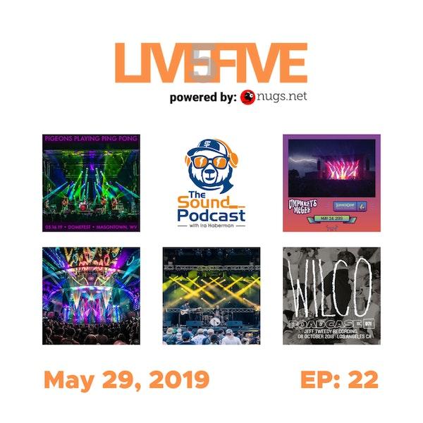 Live 5 - May 29, 2019.