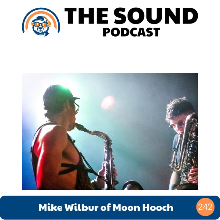 Mike Wilbur of Moon Hooch