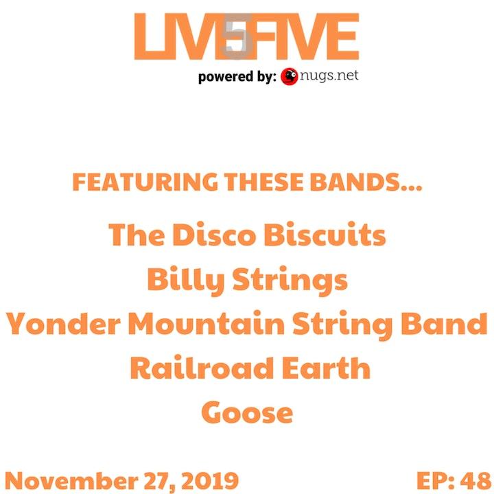 Live 5 - November 27, 2019.