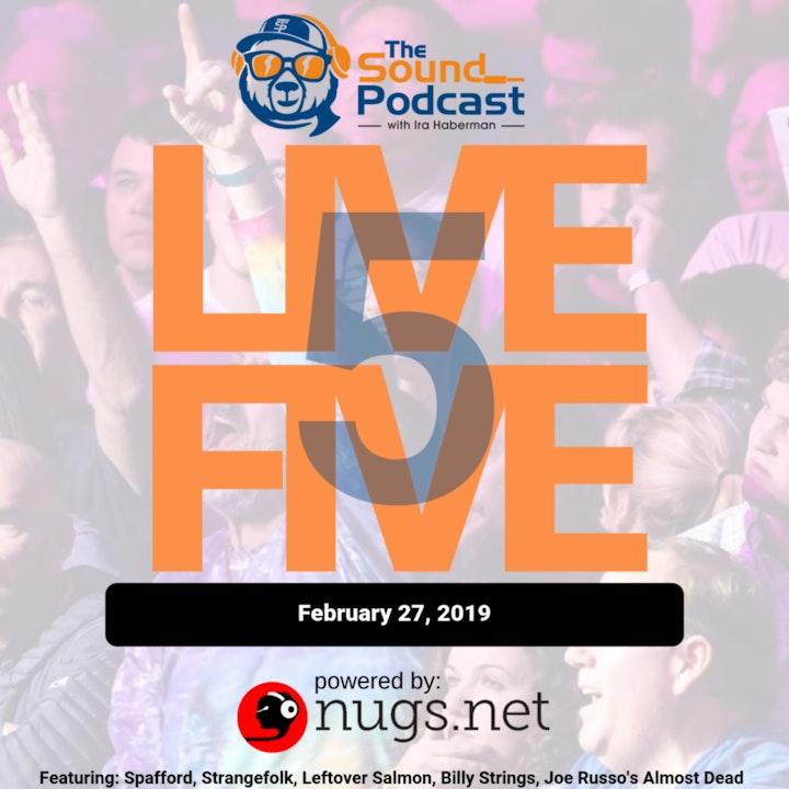 Episode: 9 - Live 5 - February 27, 2019.