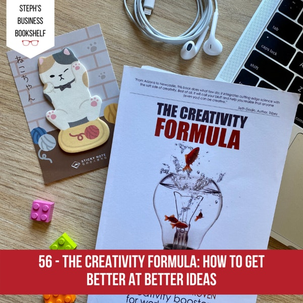 The Creativity Formula by Amantha Imber: how to get better at better ideas Image