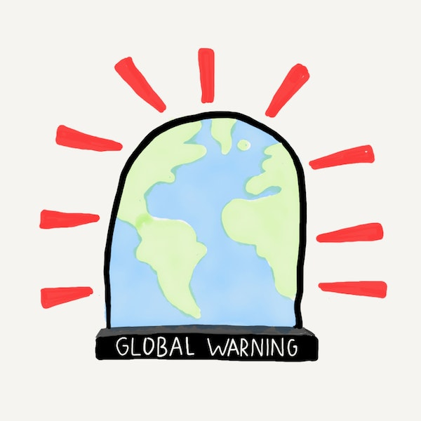 GLOBAL WARNING. Image