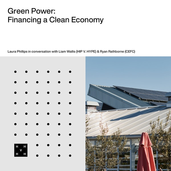 Green Power | Financing a Clean Economy Image