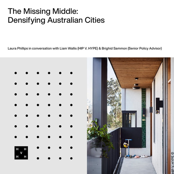 The Missing Middle | Densifying Australian Cities Image