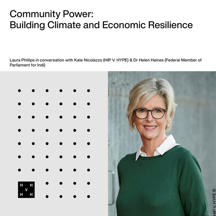 Community Power | Building Climate and Economic Resilience with Dr Helen Haines