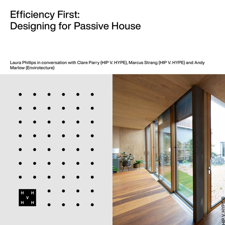 Efficiency First   Designing for Passive House
