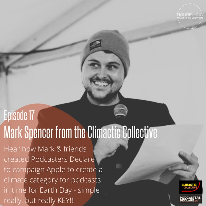 Nourishing Books & Bites - Mark Spencer on Podcasters Declare and Climactic