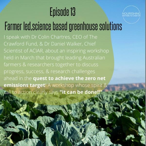 Australian Farmer-Led, Science-Based Pathways to Net Zero Emissions by 2050 Image