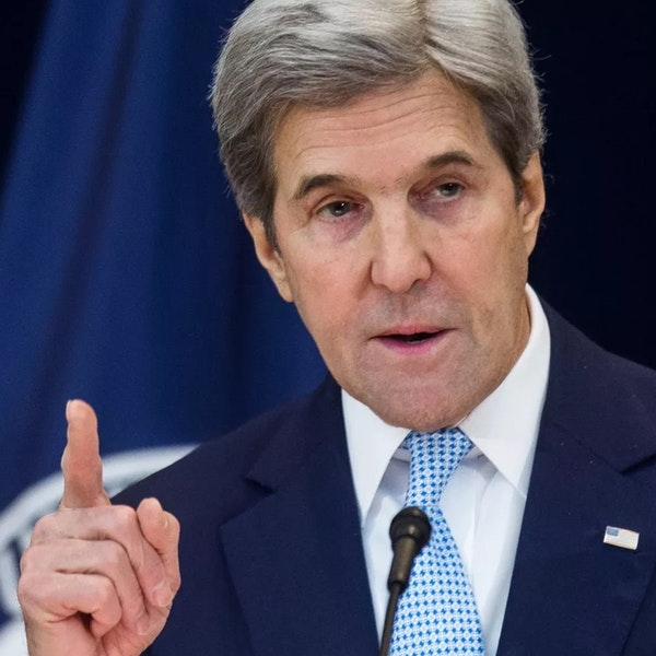 'A war-like footing and $4 trillion a year' - US Climate Envoy, John Kerry Image
