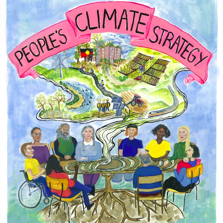 """Delivering the 'People's Climate Strategy"""" to the Member for Nicholls"""