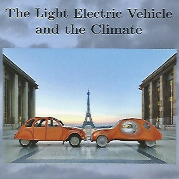 """Alex Spathis explains why he wrote """"The Light Electric Vechicle and The Climate"""""""