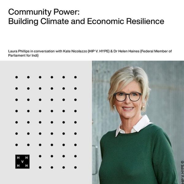 'Renewable energy is about regional development' - Helen Haines Image