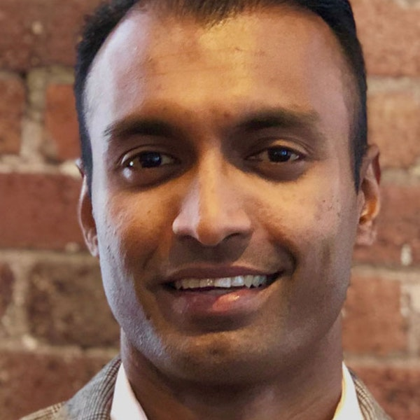 Dr Prash talks cryptocurrency, but he could have been discussing the climate crisis Image