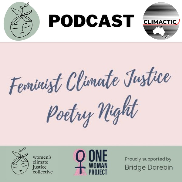 WCJC | Feminist Climate Justice Poetry Night Image