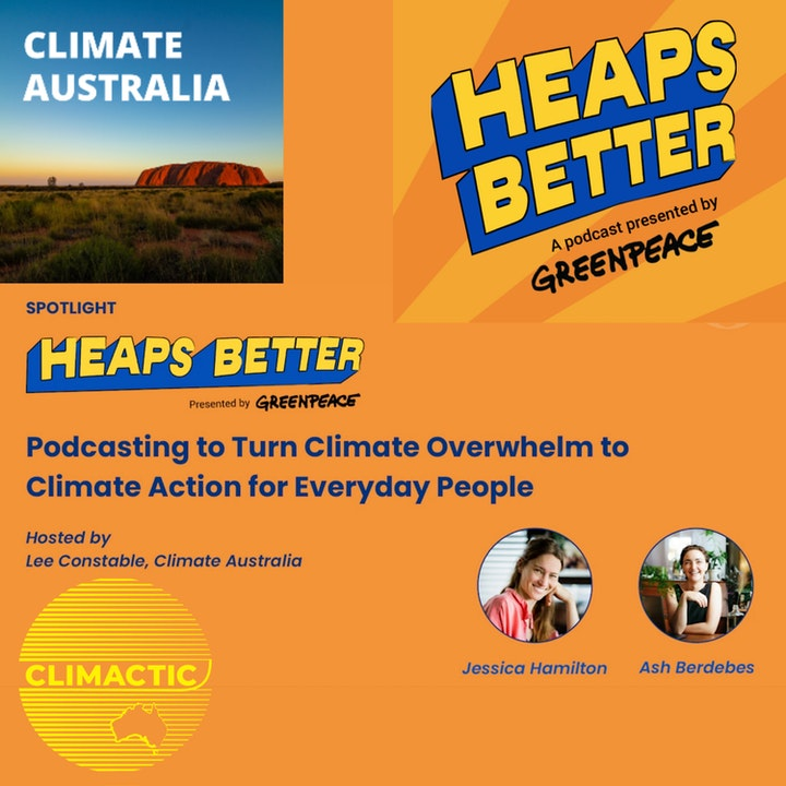 Heaps Better + Climate Australia Launch