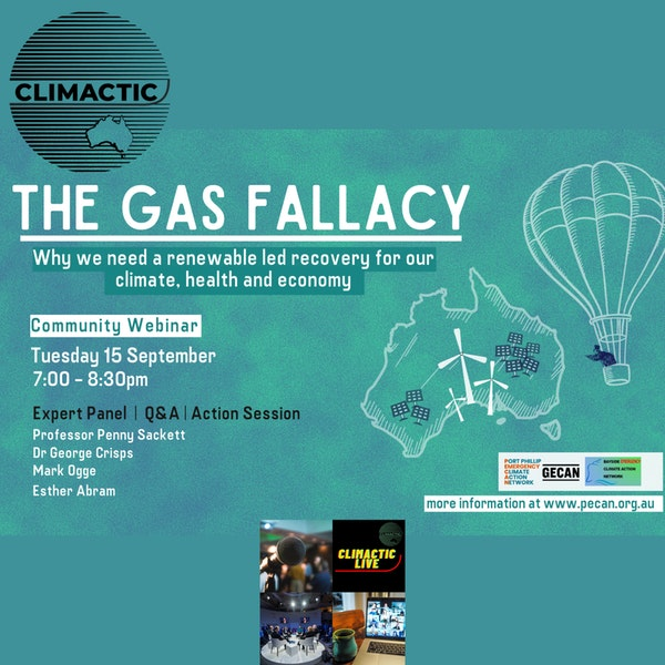 Climactic Live | PECAN, GECAN & BECAN - THE GAS FALLACY Image