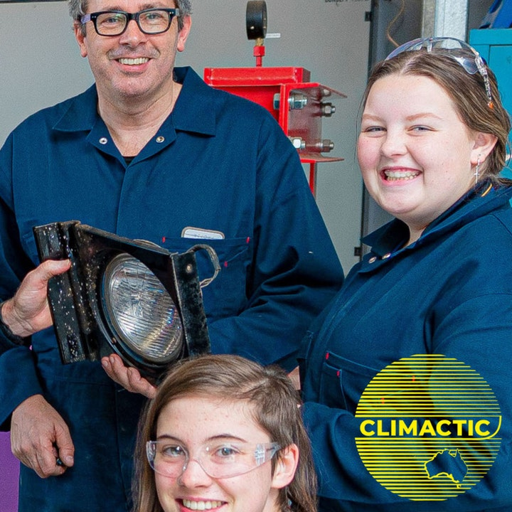 Climate Conversations | Bendigo girls in STEAM creating an electric car is world's first