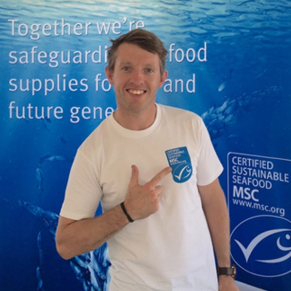 🔰💬 Mark and Eav | Will we really have fish… forever? | Matt Watson from the Marine Stewardship Council Image